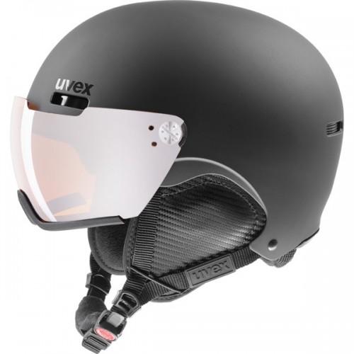 uvex - hlmt 500 visor - black mat