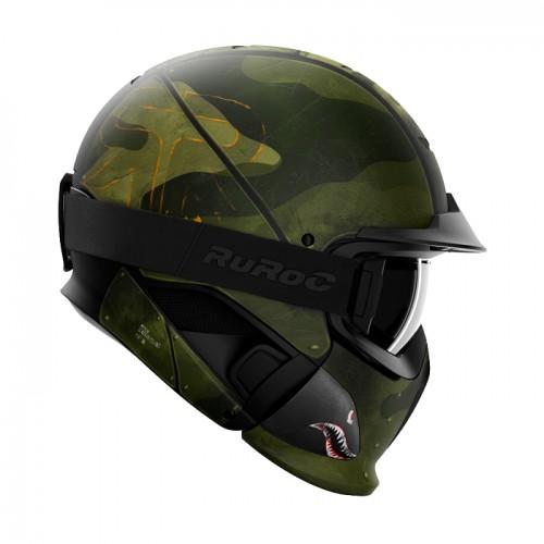 Ruroc - RG1 - DX Spitfire polarisierter Skibrille